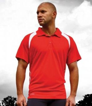SR177M Spiro Team Spirit Polo Shirt